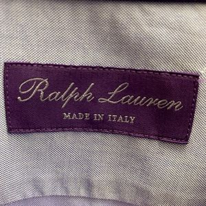 Ralph Lauren Purple Label made in Italy Shirt